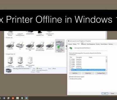 Fix Brother Printer Offline on Windows 10