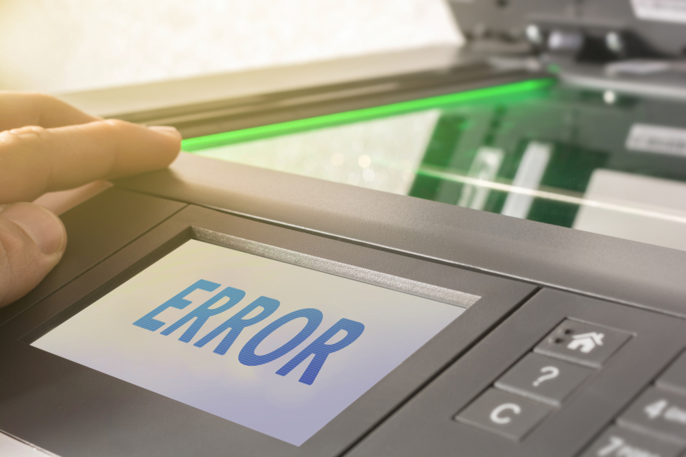 HP printer error code 0XD0620230