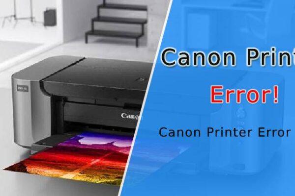 Canon Printer Error 6000