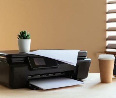 Printer Error State Message