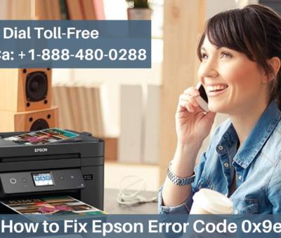 Fix Epson Error Code 0x9e