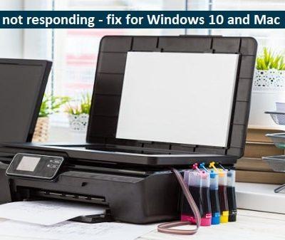 HP printer is not responding