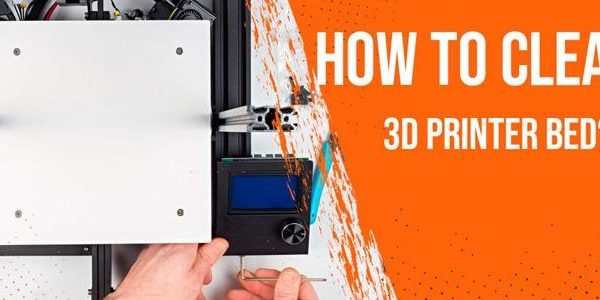 how to clean 3d printer bed